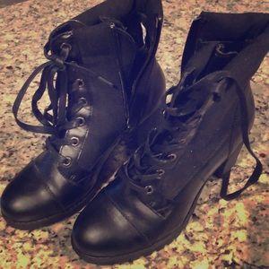 Black XoXo booties
